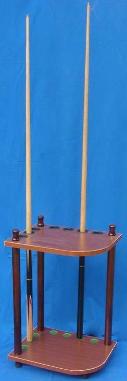 Best selling billiard and snooker cue rack