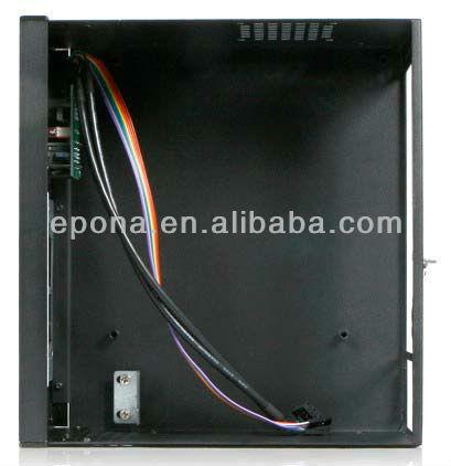 2U desktop mini-itx Compact Server case, Rackmount Chassis, industrial PC case EKI-M2