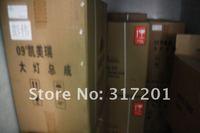 2012 Бесплатная доставка ems! Тайвань longding/zhanmao toyota highder фары с объектива проектора Би ксенон, hid лампы ccfl, привели линия