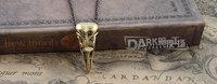 птица череп Подвески Колье Персонализированные ювелирные дешевые панк ретро унисекс украшения