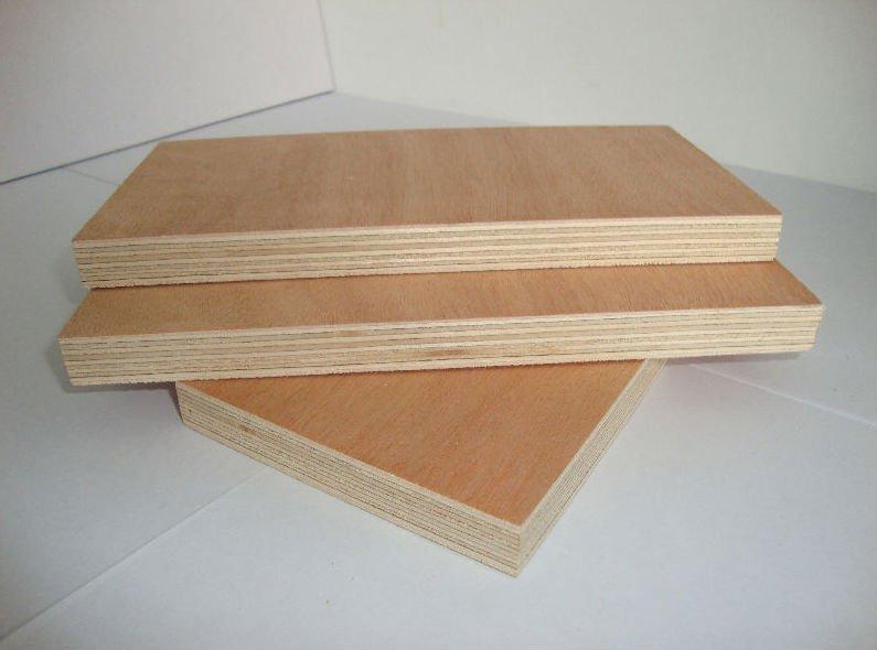 Water Resistant Plywood Bintangor Okoume Keruing Birch