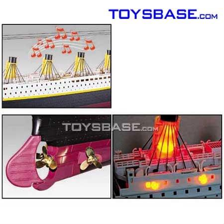 Titanic toy boat