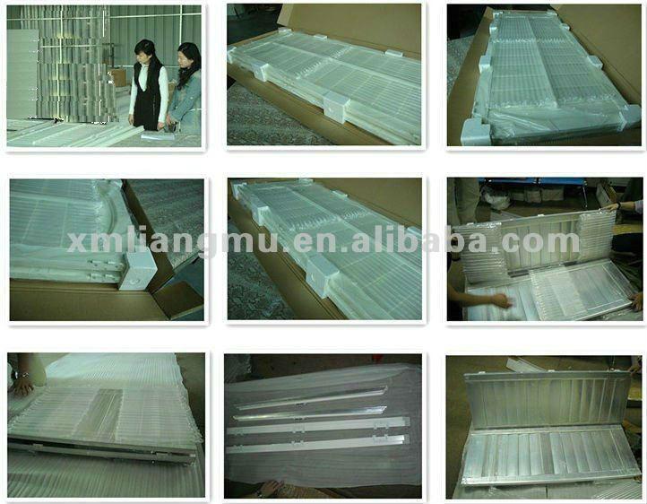 White Color Pvc Plantation Shutter