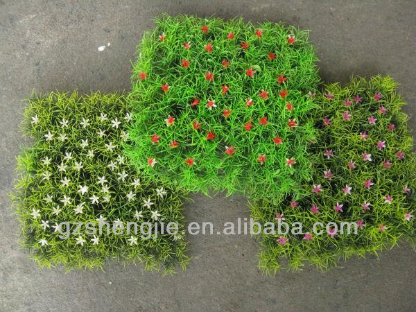 Sj Belle Artificielle Tapis De Fleurs Plantes Herbe Fleur Tapis D 39 Herbe Fleurs Guirlande De