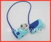 New arrival 4GB sports earphone Mp3 player w262 Cute Sport Design headset mp3 music player free shipping