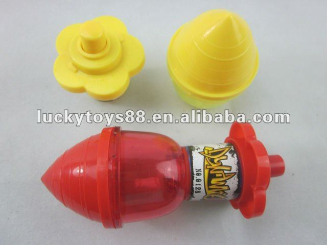 Musical flashing top toy spinning top toy
