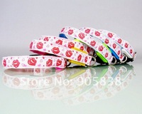 Ошейники и Поводки для собак New Product! Red Lips&Heart-Shaped Series LED Dog Collar TZ-PET3300 Flashing Dog Collar.MOQ 5 Pcs