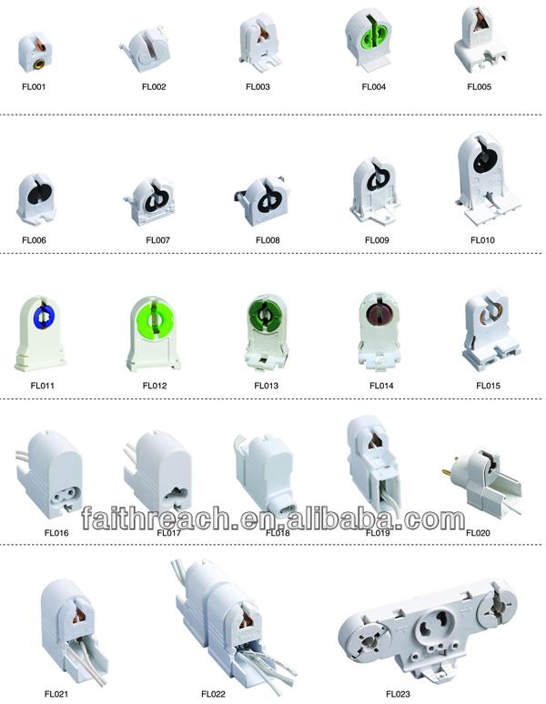 cheap plastic t5 fluorescent lamp socket buy fluorescent. Black Bedroom Furniture Sets. Home Design Ideas