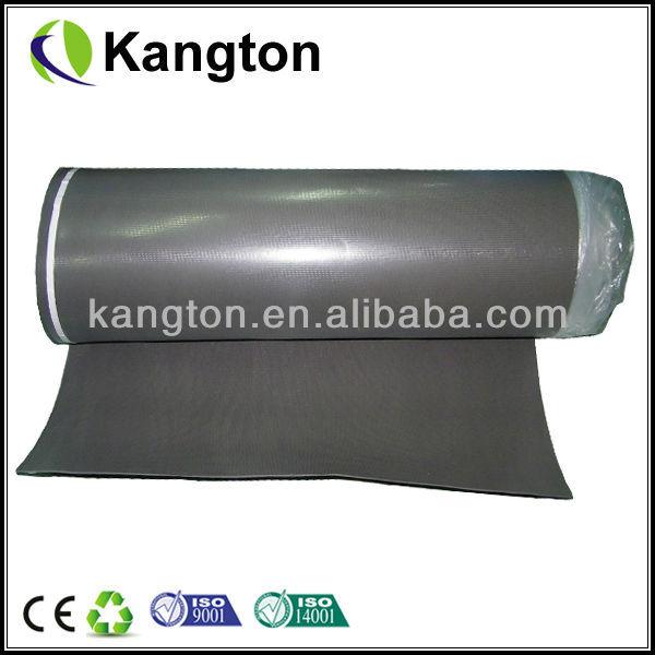 Rubber Water Barrier : High density rubber moisture barrier flooring underlayment