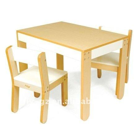 Modelos de mesas en madera para niños - Imagui