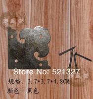 Угловые скобы Antique furniture, copper live Zhangmu Xiang copper single slice of bread wrap angle corner HE-057