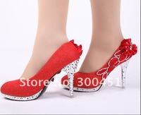 Туфли на высоком каблуке high heel flower diamond shoes, party shoes, high heel Crystal diamond shoes, size 34-39