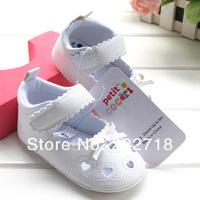 белое сердце весной и осенью летние baby девушка обувь малыша обувь мягкой единственным сандал sapatos для девочки 0-1 год назад s261