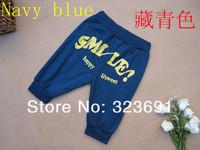 Детская одежда конфеты цвет шаровары штаны 100-140 5 шт/много хлопка брюки для baby одежда