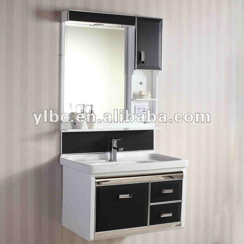 Gabinete Para Banheiro Armario para banheiro em pvc -> Armario Para Banheiro Pvc
