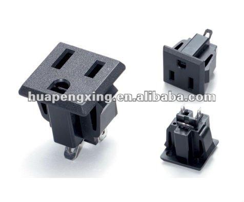 Nema 5-15 Receptacle 110v Ac Power Socket - Buy 110v Ac Power Socket ...