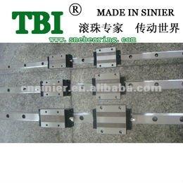Rolamento de esferas de movimento linear trilho de guia para serras circulares de alumínio com alta qualidade mgn12 trilho linear