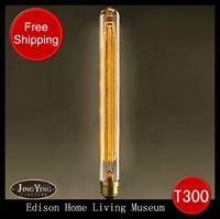 Лампа накаливания Silk e27 flyspun bulb classic tungsten wire light bulb classical vintage bulb personality nostalgic, T300