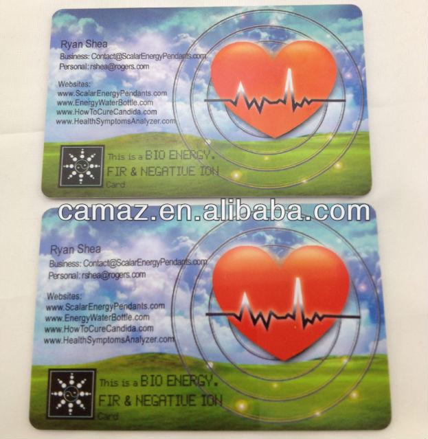 Bio nano energy card nano card bio energy card