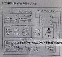цифровой контроллер температуры pid + max.40a ССР + k датчик термопары