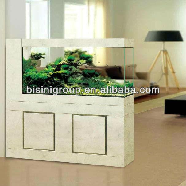 Bisini Modern Style Luxury Aquarium / Fish Tank Cabinet Marble Stone ...