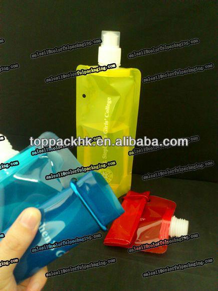 beer pouch with spout-plastic beer spout pouch-liquid spout pouches