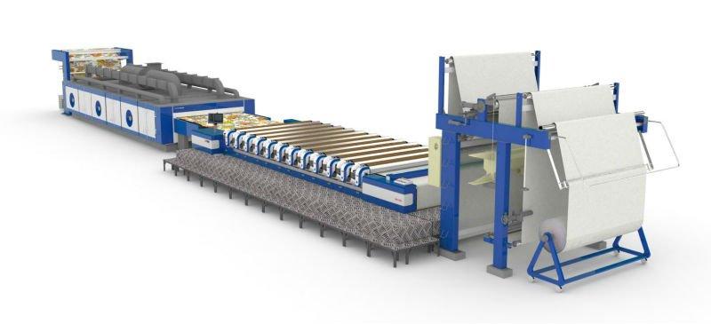 Rotary Screen Printing Machine