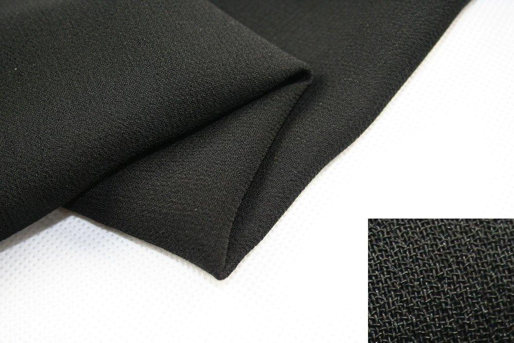 high quality formal black fabric