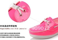 Hot Sales! Free Shipping 2012 new Design Fashion Girl's Flats! Girl's Casual Loafers! Candy Color Casual Shoes!