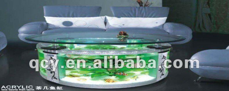 l gante et simple table de th acrylique aquarium chaises de salle manger id de produit. Black Bedroom Furniture Sets. Home Design Ideas