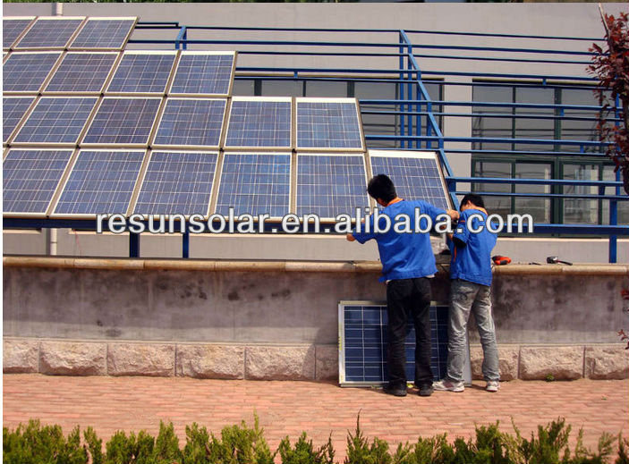 Cheap and High efficiency poly solar panels 180 with best price per watt