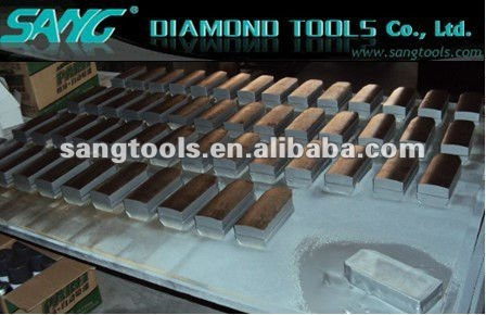 Diamond Grinding Block, Diamond Fickert metall/resin bond