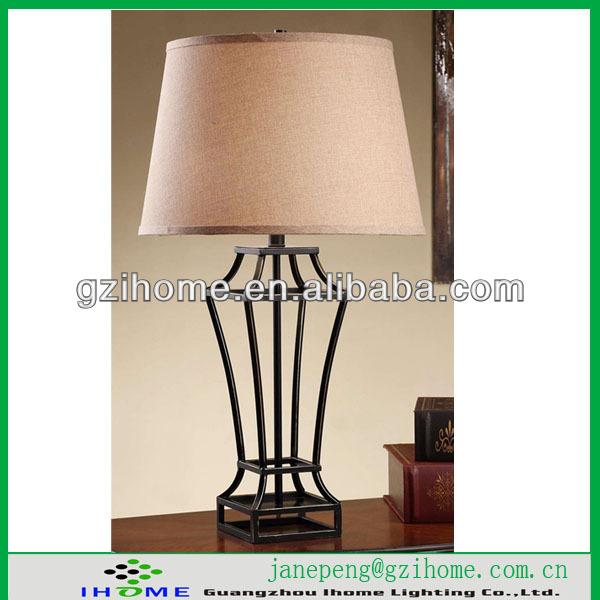lamp with outlet in base. Black Bedroom Furniture Sets. Home Design Ideas