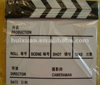 alibaba express film clapper Board Clapboard film Slate clapper board movie slate