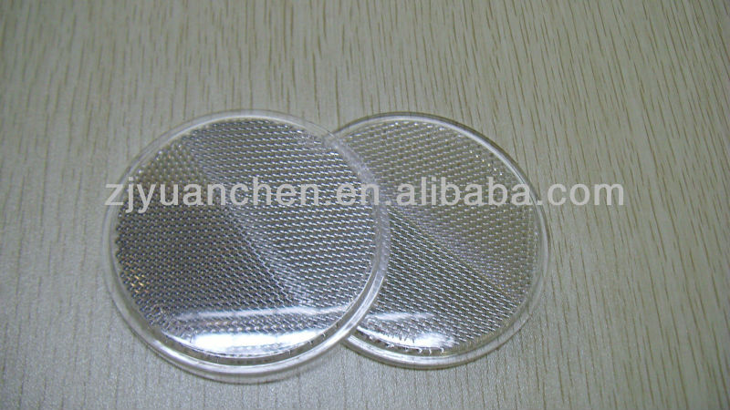 plastic round safety reflector