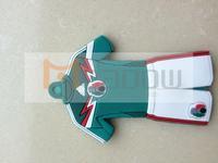 10pcs/lot Brazil World Cup mascot soccer Juventus souvenirs key chain with World Cup logo single side logo/jil