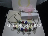 2012 NEW  Bracelets Crystal mesh bracelet weaving with box free shipping by EMS.