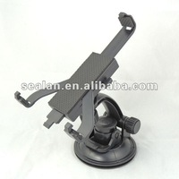 360 degrees rotation car mount holder for tablet