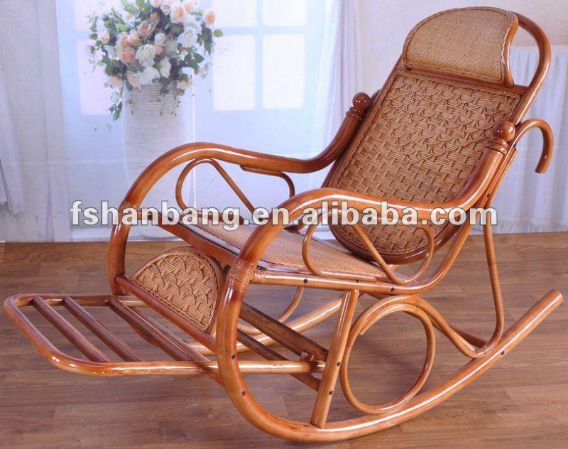 Moderna silla mecedora sillas sala estar identificaci n - Mecedoras modernas ...