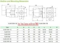 CJX2,CJX2-1201  LC1,electromagnetic contactor,ac contactor,original,220VAC,12A,50HZ/60HZ & Free Shipping
