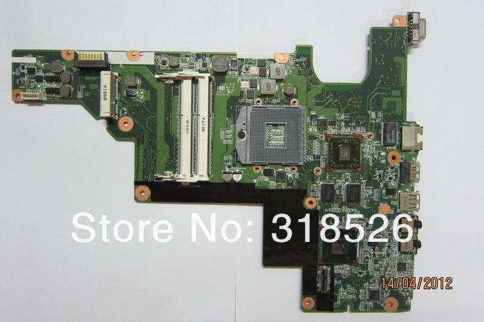עבור H*P CQ43 646672-001 HM65 שאינם משולבת vga המחשב הנייד לוח האם (לוח המערכת) עבודה מושלמת