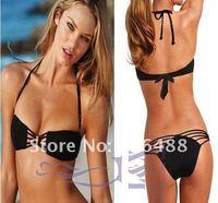 Женское бикини Fashion Bikini swimsuit women's sexy bikini Sexy black bikini bathing suit