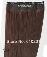 Волосы для наращивания Girlshow , 5 , 5 staight , 1 , 1B #, 125 , 60 GS-666