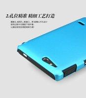 Чехол для для мобильных телефонов Genuine imak Slim Vivid Simple Hard Case Skin Back Cover +LCD Screen Guide For Sony Xperia go ST27i 10 pcs/lot