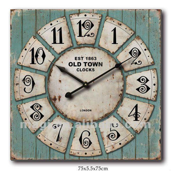 vecchi orologi da parete