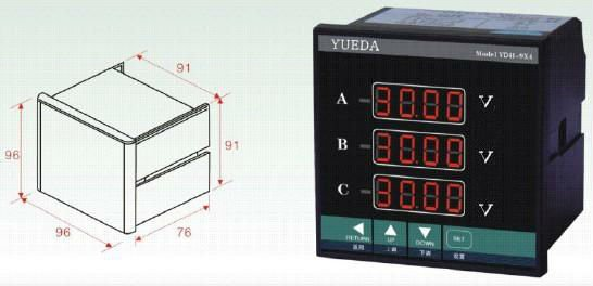 LED digital multimeter /multimeters /digital multi-meter led display