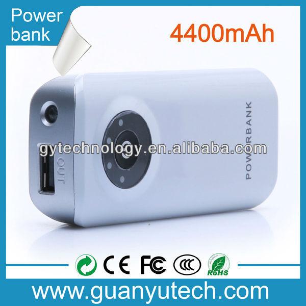 Hot sale 4400/5200/5600mAh power bank for macbook pro /ipad mini