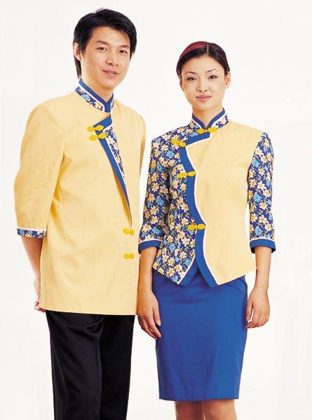 Hot selled international design restaurant waiter uniform