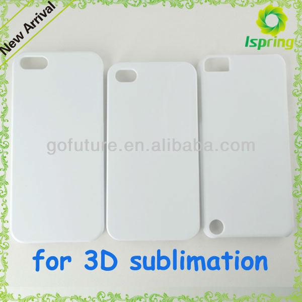 2013 factory supply, high-heat-resistant 3D blank sublimation case for ipad