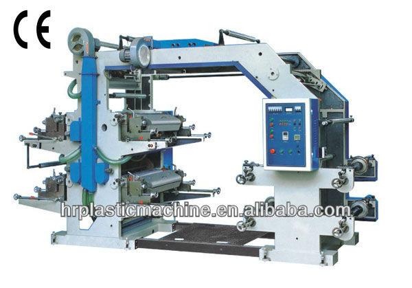 YT series four colors Flexographic printer